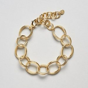 Bayou With Love / Rachel Zoe Gold Bracelet